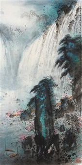 尼加拉大瀑布 (niagara waterfall) by jiang mingxian