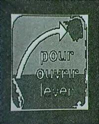 pour ouvrir, lever! by ch. baur