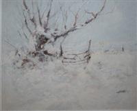 winter snow by michael brett