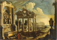 architekturcapriccio mit ruinen und kolosseum by anonymous-italian (17)