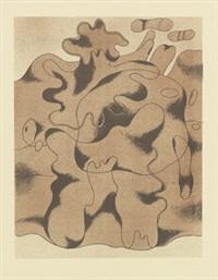 waldmensch (tertiär gestalt) by willi baumeister