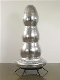 brancusi tree (silver) by paul mccarthy