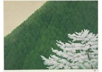 spring calmness (+ autumn; set of 2) by shinkichi (kaii) higashiyama