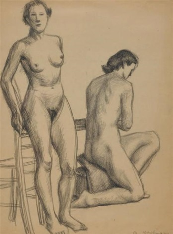 deux femmes by arthur kaufmann
