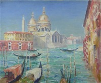 santa maria della salute, venice by william wright campbell
