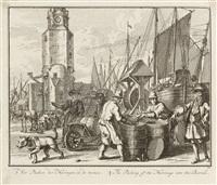 6 bll. der folge: groote vissery (after s. van der meulen) by adolf van der laan