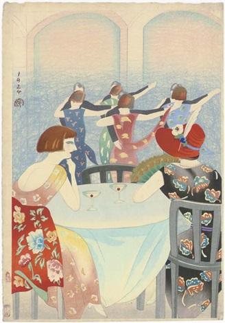 dancing at the new carlton hotel in shanghai by koka yamamura