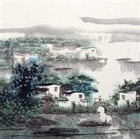 江南春朝 by zheng shufang
