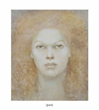 portrait of a woman (2 works) by leonor fini