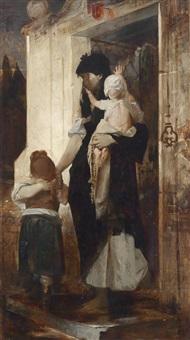 requiescat by raphael von ambros