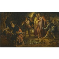 the betrayayal of christ in the garden of gethsemane by peter wtewael