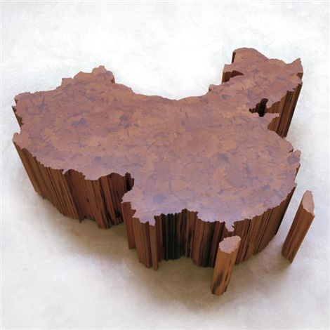 map of china by ai weiwei
