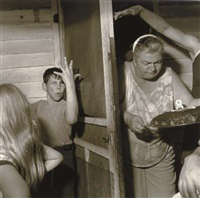 pat sabatine's eighth birthday party, pa by larry fink
