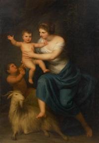 la naissance de jupiter by andries cornelis lens