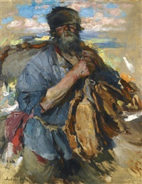 home from market by abram efimovich arkhipov