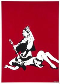 queen vic by banksy