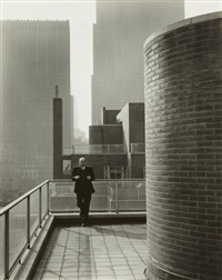 david h. mcalpine, new york by edward weston
