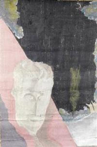volto maschile e paesaggio notturno by francesco bonami