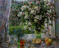 les branches du pommier by kapitolina rumyantseva