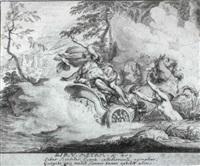 designs illustrating ovid's 'metamorphoses' by johann jacob von sandrart