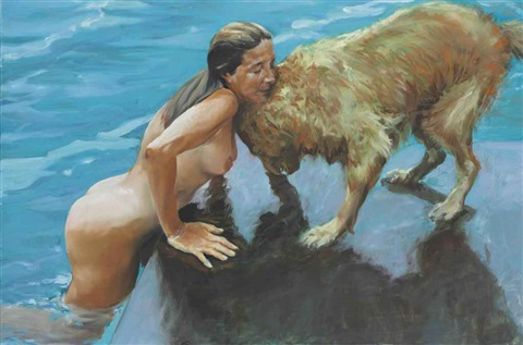 lorinda and annie by eric fischl