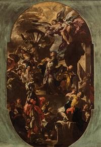 il martirio di santa caterina d alessandria by domenico antonio vaccaro