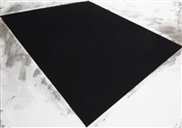 untitled (or philip glass poster) by richard serra