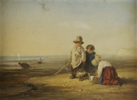 children on a beach by william p. rogers