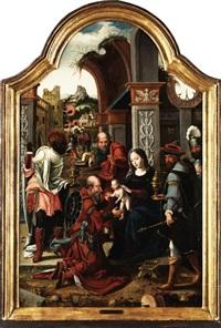 anbetung der könige by jan van dornicke