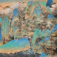 山居图 (living in seclusion) by qi enjin
