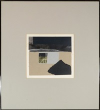 facades 2 (from portfolio of 12 serigraphs in homage to edith sitwell) by louise nevelson