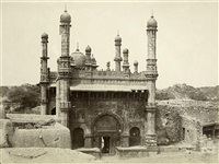 mosque of musaood khan at adoni by thomas biggs