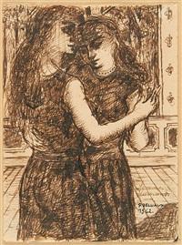 femmes dansantes by paul delvaux