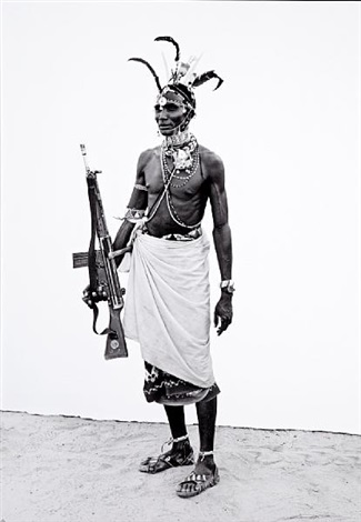samburu warrior by lyle owerko
