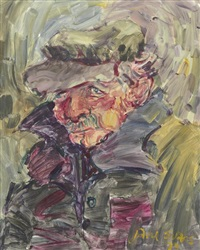 untitled (portrait of a man) by jane evans
