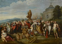 paul et barnabé à lystra by frans francken the younger