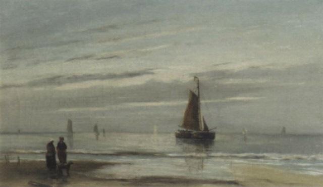 aan de noordzee by jacob willem gruyter