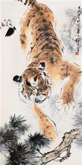 tiger by liu ji hui