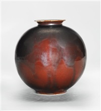 vase by otto lindig and liebfriede bernstiel