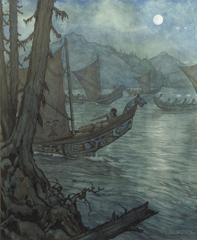 on a mission by night by anton pieck