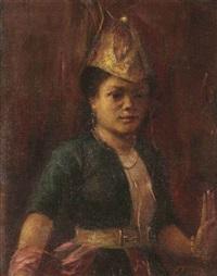 a batak girl by max fleischer