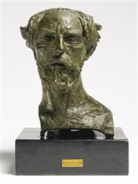 augustus john by sir jacob epstein