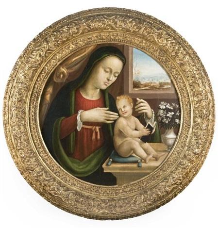 madonna con bambino by domenico beccafumi