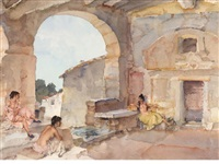 la source by william russell flint