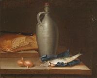 küchenstillleben (pair) by justus juncker