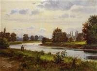the thames at kew by justus hill