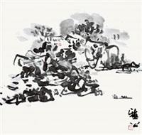 山居图 by ya gong