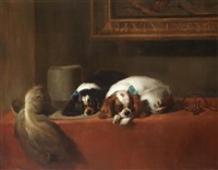 the cavalier's pets by sir edwin henry landseer