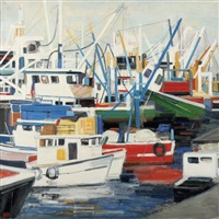 bateaux, turquie by ginette rapp