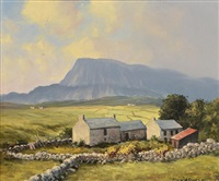 in the muckish gap, co. donegal by william h. burns